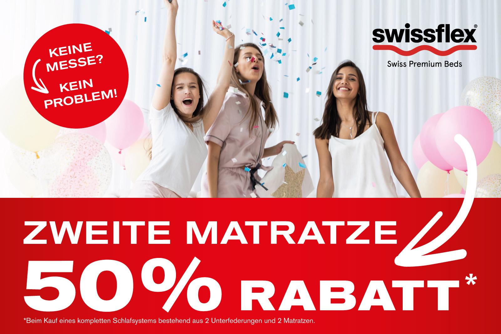 50% Rabatt Swissflex Aktion